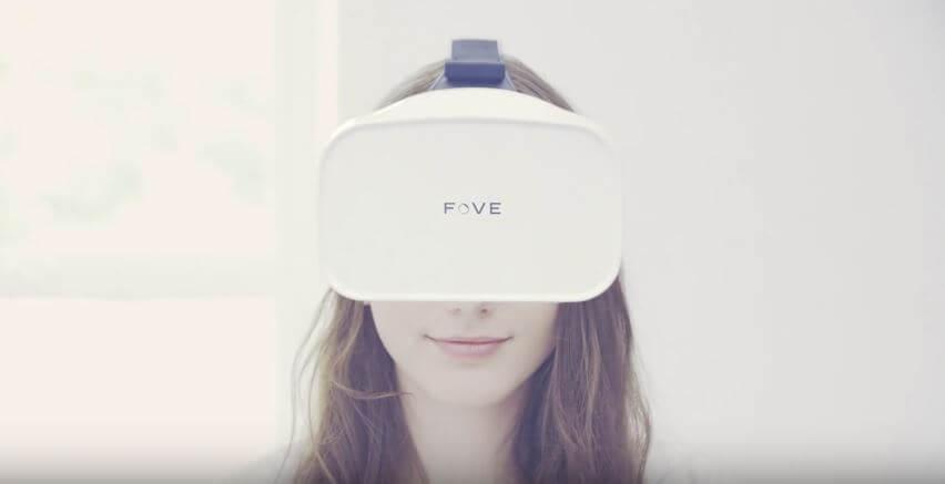 Eye-tracking Headset Fove 0