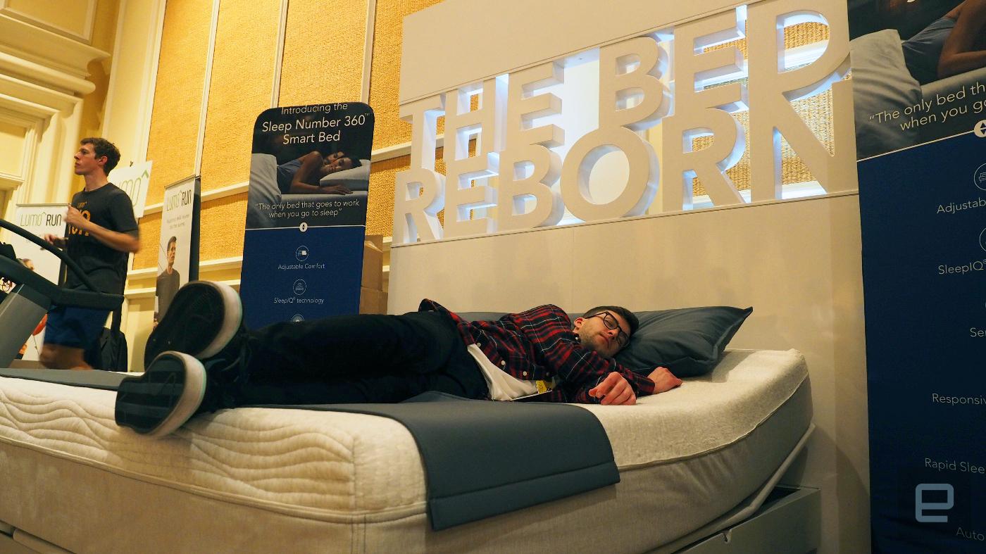 Smart Bed Sleep Number 360