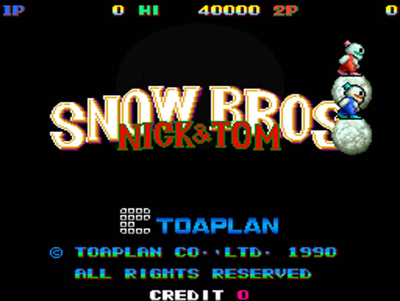 Snow Bros (1990)